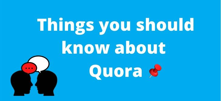 Things about delete Quora account