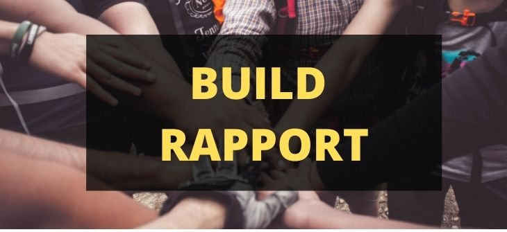 pros and cons of social media - build rapport
