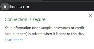 secure connection explained
