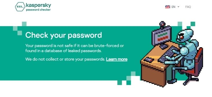 Kaspersky Password Checker