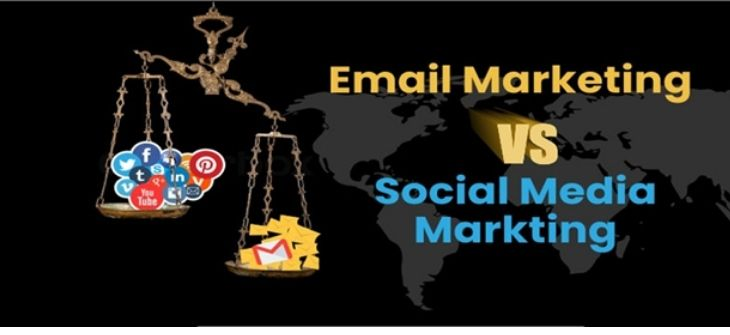 email marketing and social media