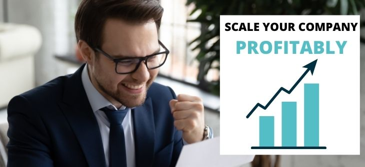 scale up your company profitably