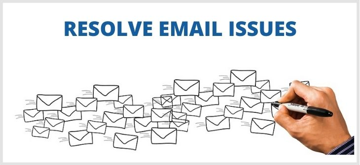 Resolve email issues -1